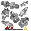 Male x Male Mild Steel Hydraulic Adaptors, Unions, Fittings